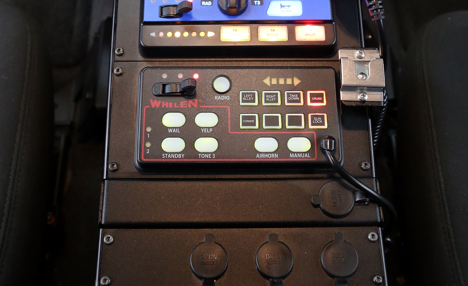 295sda Dual Tone Siren Amplifier With Control Head Evp Police Circuit