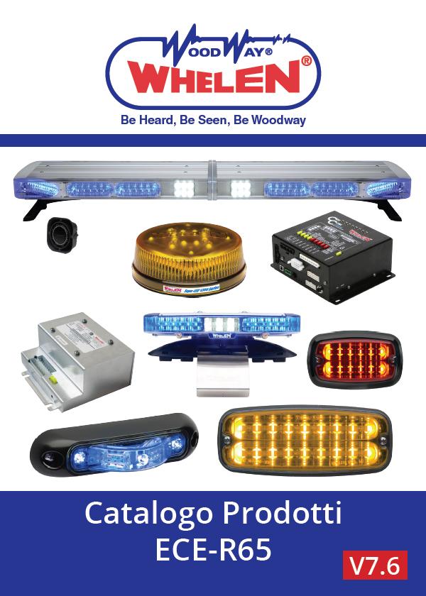 Whelen ECE-R65 compliant products - ITALIAN