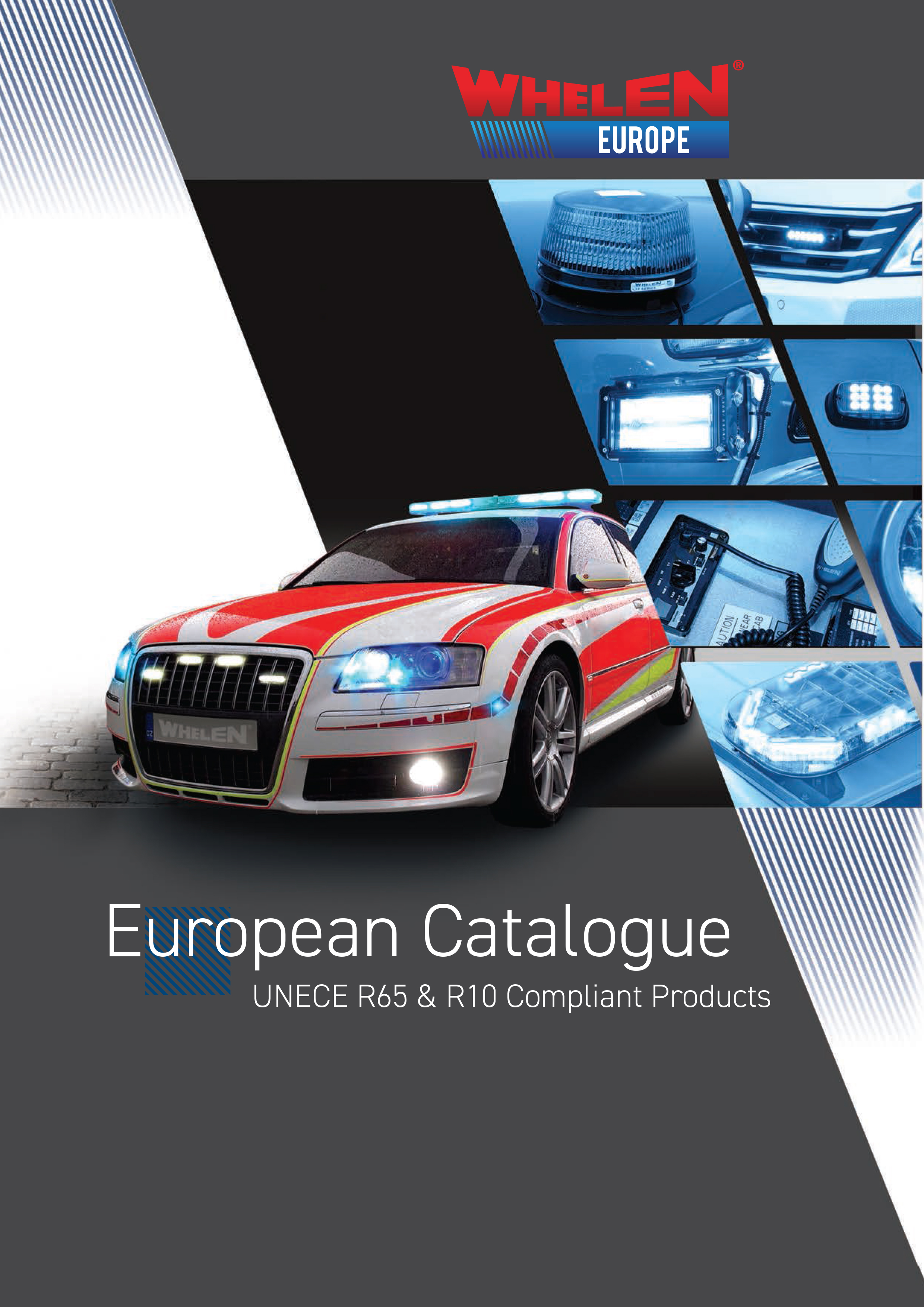 Whelen ECE-R65 compliant products